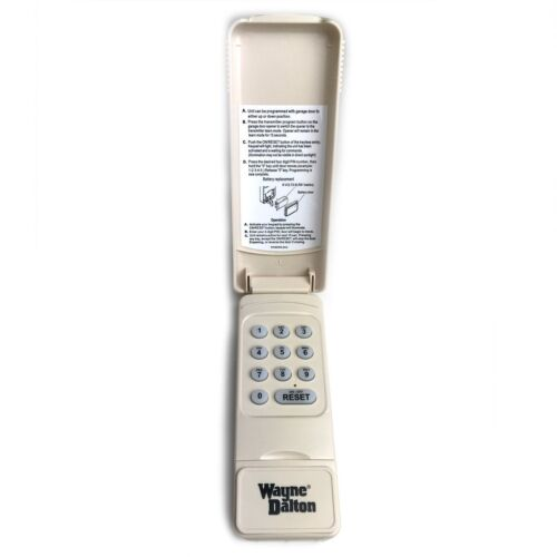 Wayne Dalton Garage Opener Wireless Keyless Entry Keypad KEP4 334642 372 Mhz