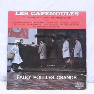 33T-THE-CAPENOULES-Vinyl-LP-12-034-Y-CANTENT-AND-y-PLAY-POU-VOUS-EETS-GODDESS-1