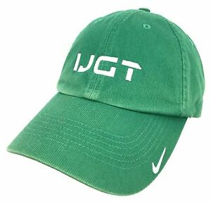 Nike-Cap-International-Junior-Golf-Tour-Hat-IJGT-Baseball-Green-Adjustable-NWT