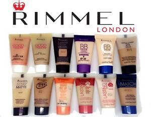 RIMMEL-FOUNDATION-TRAVEL-SAMPLE-HALF-SIZE-15ML-NEW-UNSEALED-CHOOSE-COLOUR