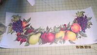 Tatouage Fruit Swag Grapes Border Mural