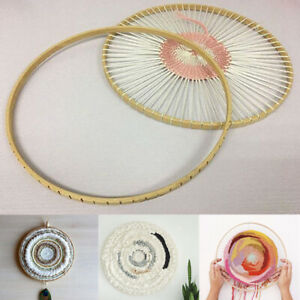 Wooden-Round-Loom-Wooden-Knitting-Weaving-Tool-Handmade-DIY