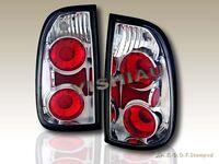 2000-2004 Toyota Tundra Standard & Access Cab Tail Lights Clear