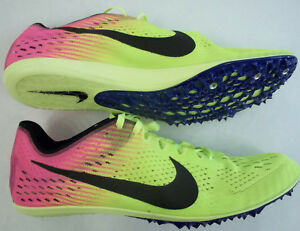 5f0194f106 NWT Nike Zoom Victory 3 Mens Size 13 Racing Spikes Volt Multi-Color ...