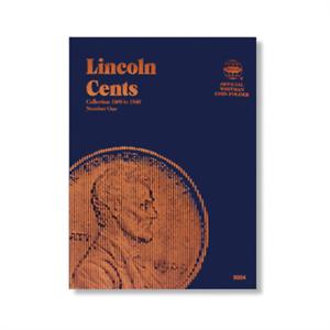 Whitman-Lincoln-Cent-1909-1940-Coin-1-Folder-Brand-NEW