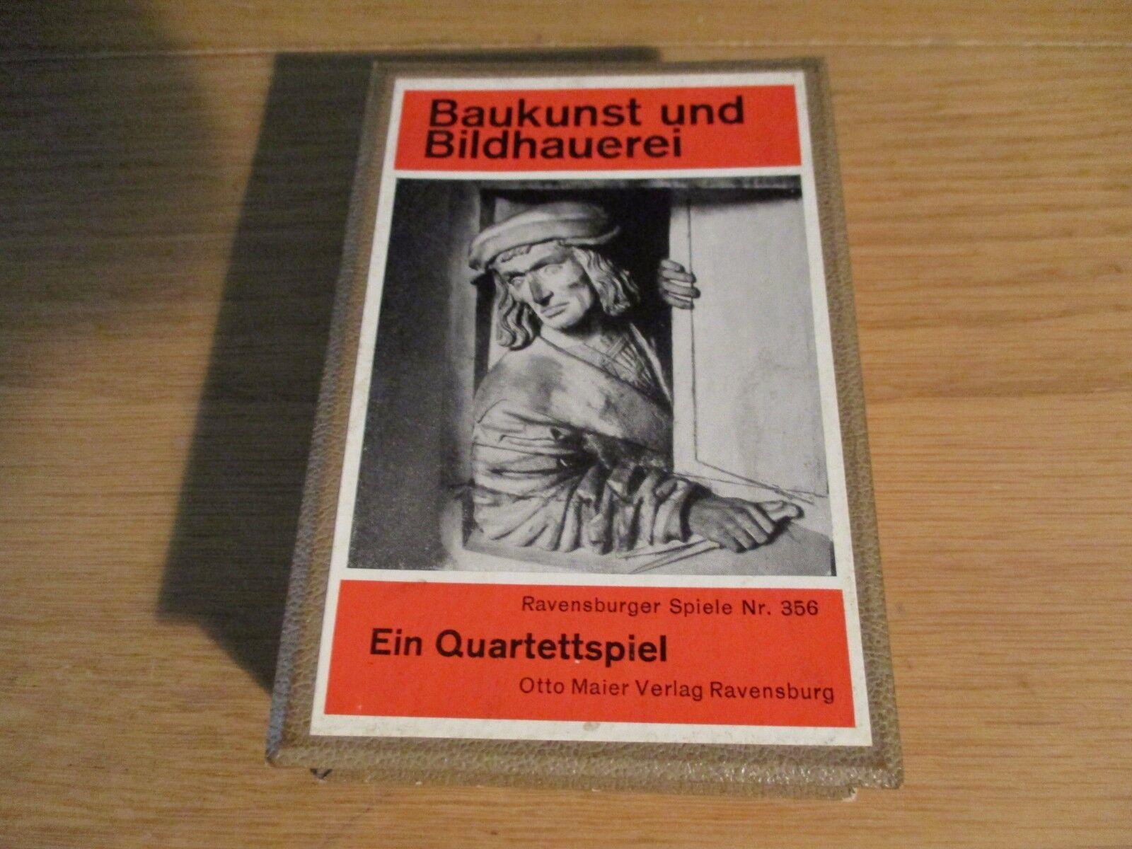 Ravensburger Spiele -  Baukunst und Bildhauerei - Quartett nr. 356  | Mangelware