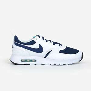 purchase cheap 29d63 795c5 Image is loading Nike-Air-Max-Vision-White-Midnight-Navy-2017-