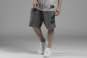 best selling first rate to buy Details about Nike Mens Alumni Fleece Sweat Shorts Charcoal /Black  AR2375-071 SIZE S ***