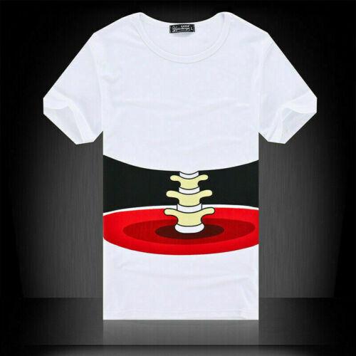Funny 3D Printed T-shirt HOT  NEW Big Tee Short Men/'s Hand Shirt Sleeve Fashion
