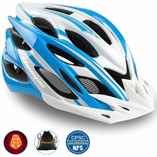 Shinmax Bike Helmet,Bicycle Helmet CPSC//CE Certified Adjustable Size Ultralight