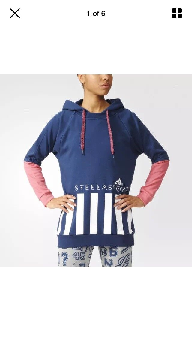 Adidas Stella Mccartney long Hoodie , rrp60
