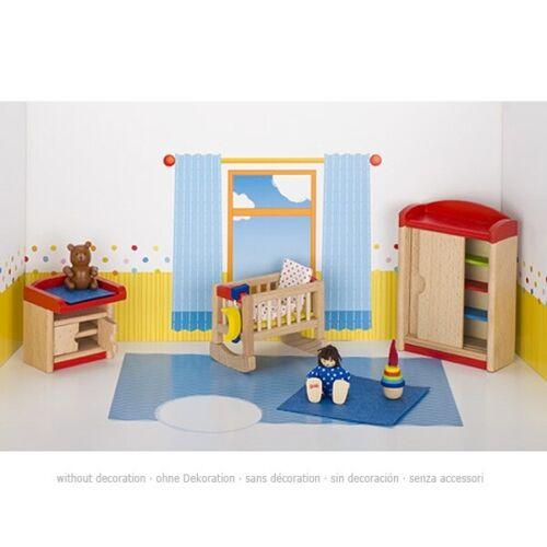 Goki bambole mobili casa delle bambole dotazione Accessori Giocattolo in legno bambole tube