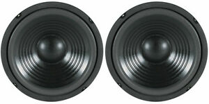 NEW-2-8-034-Woofer-Speakers-Replacement-8-ohm-Bass-Woofer-Home-Audio-PAIR-8inch