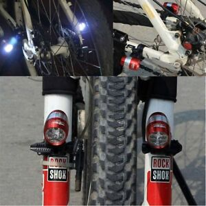 Front Light 6 LED Light Bike With Lamp Holder Bicycle Waterproof Headlight