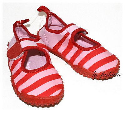 Sincero Nuove Scarpe Da Bagno/aquaschuhe ° Rosso Cuciture ° Upf 80+ Di Playshoes Tg. Scelta-mostra Il Titolo Originale Merci Di Convenienza