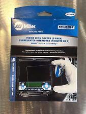 Miller Infinity Series Inside Welding Lens Covers 5 Pack Genuine 271319 Freeship