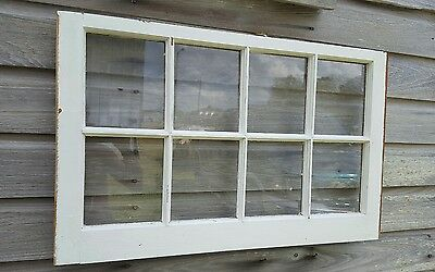VINTAGE SASH ANTIQUE WOOD WINDOW UNIQUE FRAME PINTEREST WEDDING 8 PANE 36X20