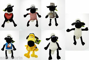 Soft Toy Shaun The Sheep Original 7 Characters