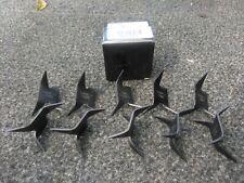 10 NINJA CALTROPS Functional Black Iron Spike Tactical MAKIBISHI TETSUBISHI