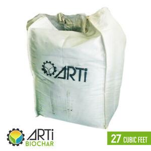 Biochar produced from sustainable biomass (ARTi Biochar) - 27 cubic feet