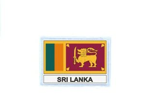 Patch badge iron on glue flag country CL sri lanka