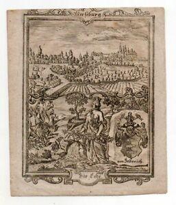 Merseburg-Original-Kupferstich-Zittauisches-Tagebuch