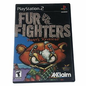 Fur-Fighters-Viggo-039-s-Revenge-Sony-PlayStation-2-2001-Complete-w-Manual-CIB