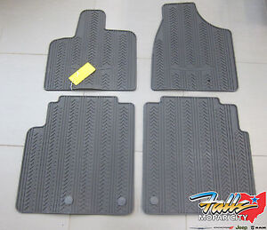 Details About 2013 2016 Chrysler Town Country First Second Row Slush Mats Mopar Oem