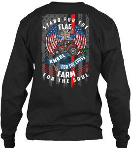 Super-Summer-Sale-Farmer-Stand-For-The-Flag-Gildan-Long-Sleeve-Tee-T-Shirt