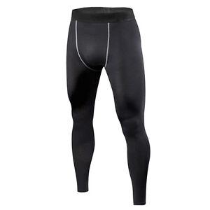 para-hombre-deporte-baloncesto-bajo-Shorts-de-compresion-Pantalones-largos-Base