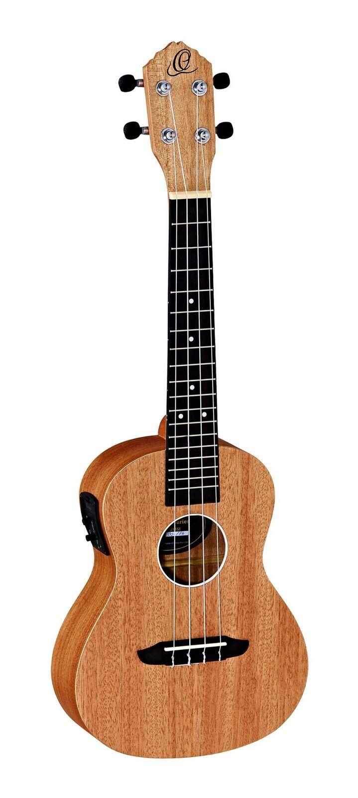 Ortega rfu11se concierto ukelele uke uke uke Hawaii guitarra fonocaptor Bag bolso naturaleza 97489b