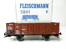 Behältertragwagen Spaten der DB Fleischmann 5233 K 216HO //04 top in OVP