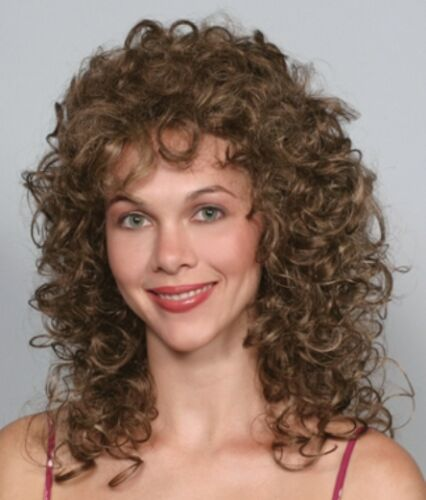 VICTORIAN LADY WIG GIBSON GIRL SOFT BANG CURLY MARIE ANTOINETTE QUEEN ELIZABETH