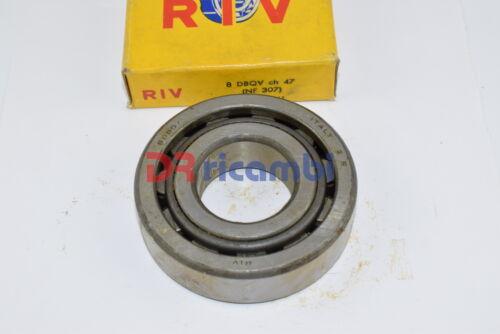 RIV NF 307-8 DBQV SKF NF307ECP CUSCINETTO A RULLI CILINDRICI D 35x80x21