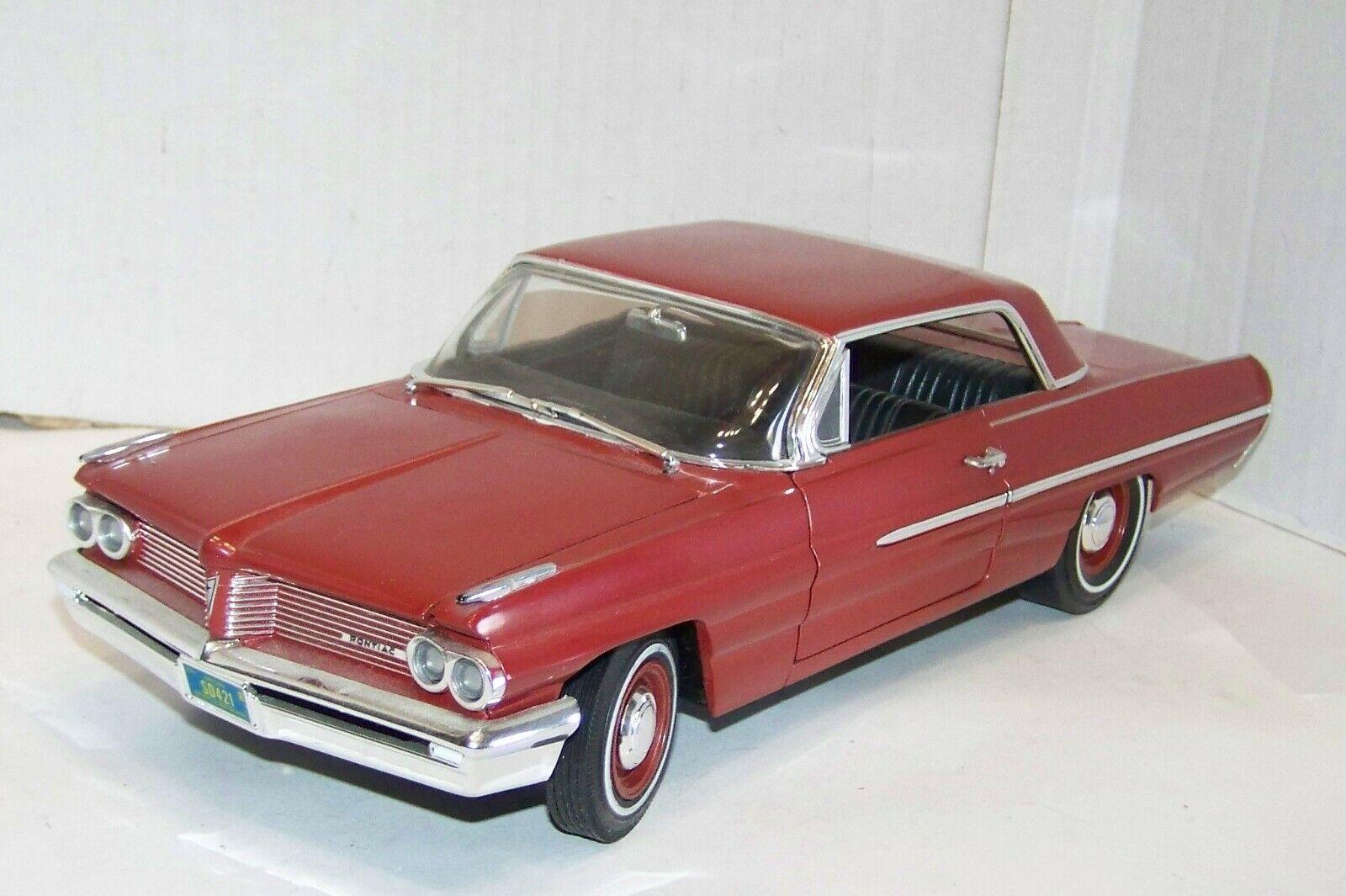 Ertl 1 18, Pontiac Catalina 1962, bordeaux-metallic,  XR8910X