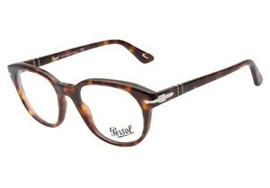 55e56931f4 Image is loading Persol-Designer-Mens-Eyeglasses-3052V-24-Havana-Brown-