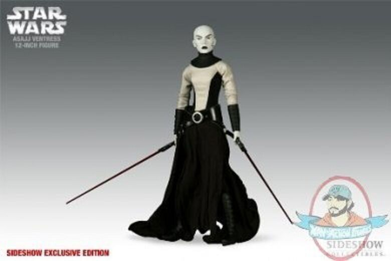 1 6 Scale Star Wars Asajj Ventress Figure Sideshow Exclusive (Used)