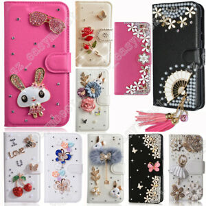 purchase cheap 1482b 433c8 Case PU Leather Cover Lovely DIY Flip Cases with Card Slots Phone ...