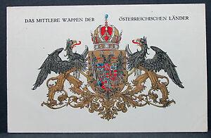 K-U-k-Patriotika-Ak-Austria-Kriegsfursorge-Verde-Serie-Cruz-Roja-Lot-H-9191