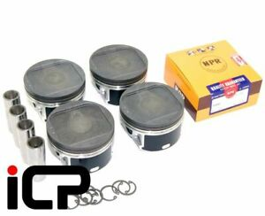 ICP-92mm-Piston-amp-Ring-Set-Fits-Subaru-Impreza-Turbo-92-98-EJ20G-EJ20K-WRX-STi