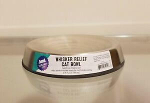 Whisker City Whisker Relief Cat Bowl NEW