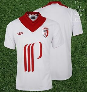Lille-Away-Shirt-Official-Umbro-Football-Jersey-LOSC-Mens-All-Sizes
