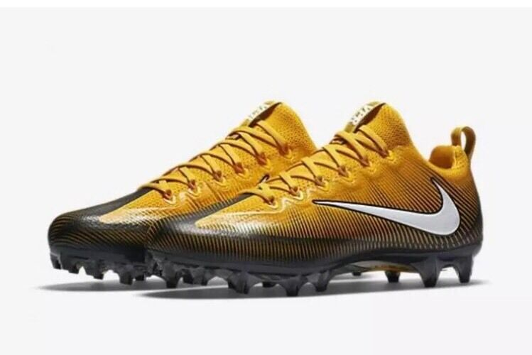 NIKE Vapor Untouchable Pro PF Pittsburgh Steelers Sz 10.5 Antonio Brown Cleats Special limited time
