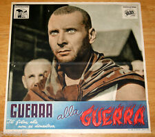 fotobusta originale GUERRA ALLA GUERRA Romolo Marcellini 1948 #5