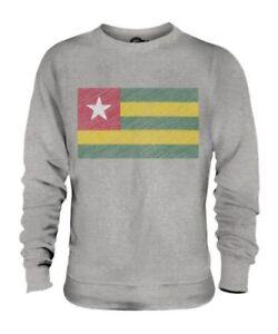 Regalo Maglione Scarabocchiato Togolese Togo Bandiera Calcio Unisex IqzCp4w