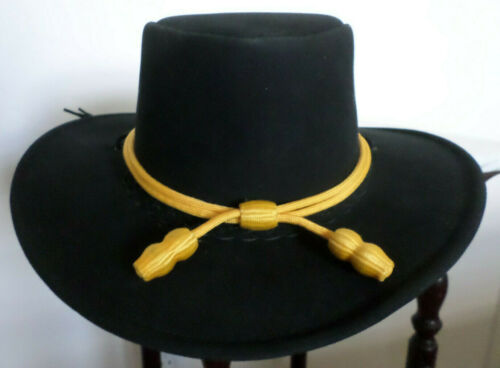 FITS  UP TO XL  BRAND NEW FREE SHIP USA CAVALRY HATBAND  SIZE  REGULAR