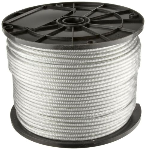 """Marine Stainless Steel 316 Type Wire Rope Cable Balustrade Decking 7x19 1//8/"""""""