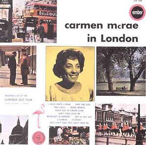 New-Mcrae-Carmen-In-London-Audio-CD