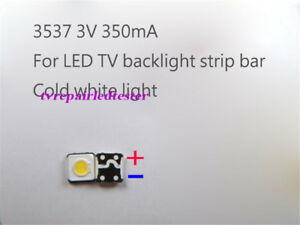 Details About 100pcs 3537 Smd Lamp Beads 3v For Samsung Led Tv Backlight Strip Bar Repair