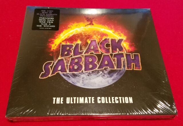 Black Sabbath The Ultimate Collection: Black Sabbath The Ultimate Collection With Jacket Sticker